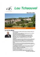 Tchaouvel N°75 – Novembre 2020